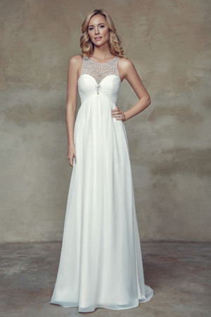 Chiffon A-line Wedding Dress - Boheme