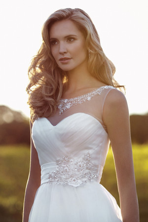 Organza Ball Gown Wedding Dress - Bryce