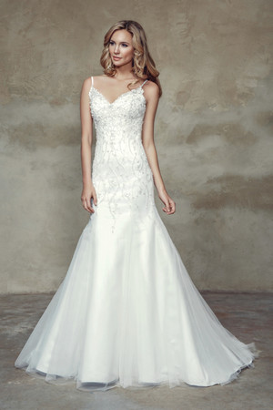 Tulle A-line Wedding Dress - Brasil