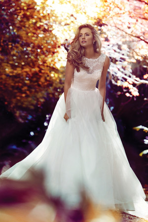 Tulle Ball Gown Wedding Dress - Bronte