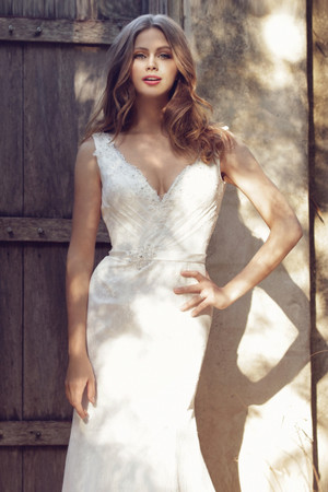 Lace A-line Wedding Dress - Bridget