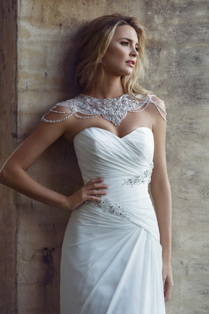 Chiffon A-line Wedding Dress - Bliss