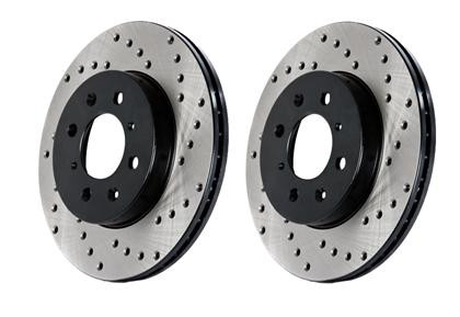 Part Number:       st128.45073L Description:         Drilled Sportstop Rotor Position:                Front Left  Mazda 2006-07 Speed 6