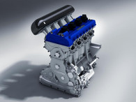 SPEED PERF6RMANC3 Built Long Block For Ford Ecoboost 2.0L