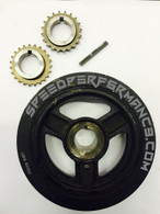 DISI KEYED CRANKPULLEY & GEARS