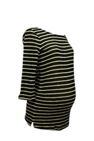 *New* A Pea in the Pod Collection: Whetherly Striped Maternity Sweater (Large)
