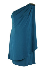 Logoon JS Boutique Embellished Maternity Dress (Like New - Large)
