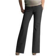 Gray Gap Maternity Demi Panel Career Modern Boot Pants (Gently Used - 10A)