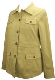*New* Tan Liz Lange Maternity Long Sleeve Jacket (Size 4)