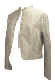 *New* Silverish Cadeau Maternity Cropped Jacket (Size Large)