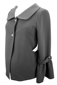 *New* Black Ran Designs Long Sleeve Career Blazer (Size X-Small)