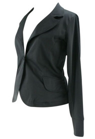 *New* Black Everly Grey Maternity Sleeved Maternity Blazer / Jacket (Size X-Small)