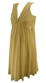 *New* Champagne Rose Asos Maternity Special Occasion Maternity Dress (Size 10)