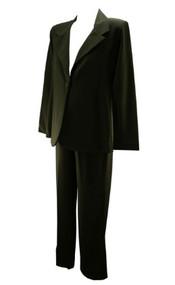 *New* Black Olian Maternity Career Suit: Maternity Pants & Maternity Blazer (Size Large)