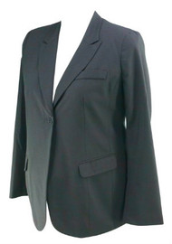 Black Button Career Maternity Blazer by A Pea in the Pod Maternity (Like New - Size Large)
