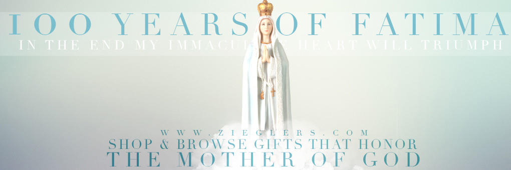 100 Years of Our Lady of Fatima and her gifts! Shop them today!