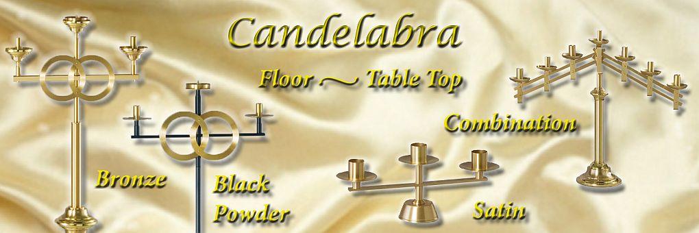 Candelabra, metalware