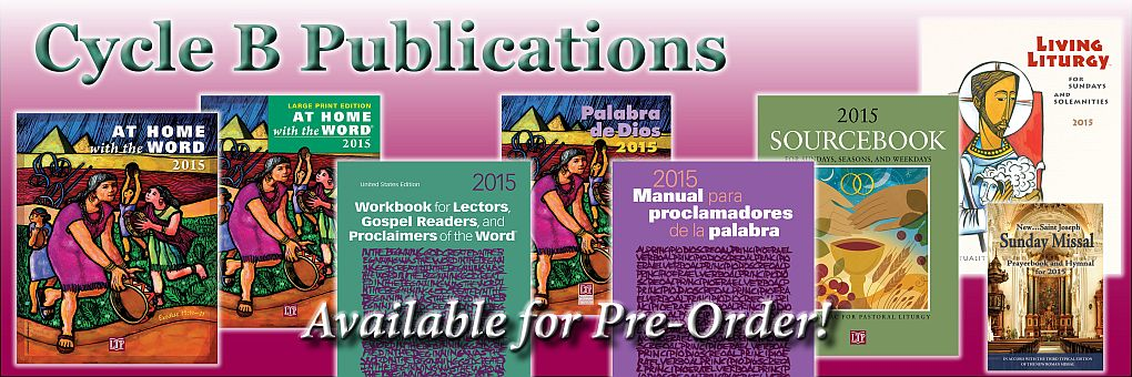 Cycle B liturgical publications