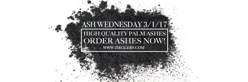 Order and Buy Ashes for Ash Wednesday 2017