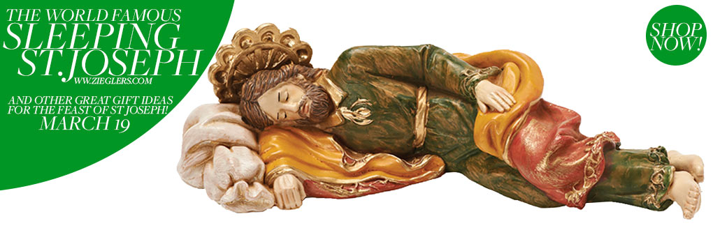Sleeping Saint Joseph Statue From Pope Francis Homily 2016