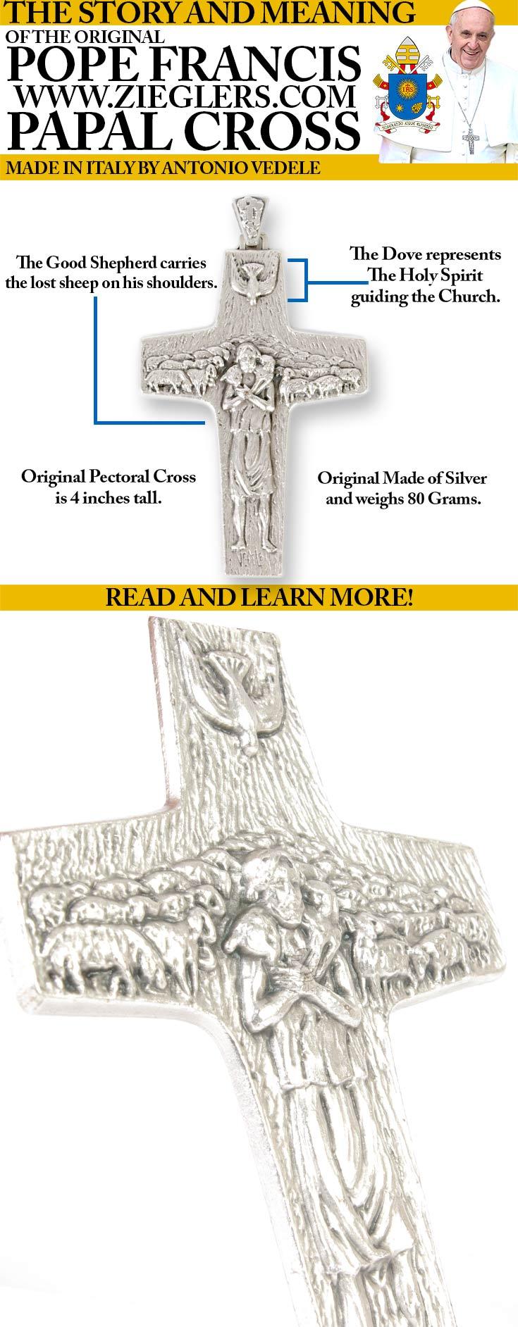 The original pope francis papal pectoral cross story and meaning the original pope francis papal pectoral cross story and meaning fc ziegler company biocorpaavc
