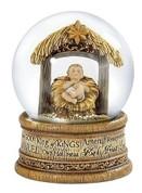 Baby Jesus Glitter Globe