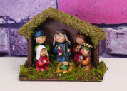 Nativity with Creche