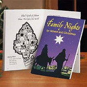 Family Nights For Advent And Christmas By Terry And Mimi Reilly Activity Book AB20125