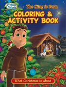 Brother Francis Coloring & Activity Book The King Is Born Paperback 9781939182234
