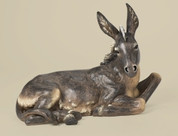 21 Inch Donkey Statue Colored For 39 Inch Scale Nativity 34984