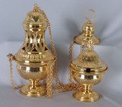 Censer and Boat Set