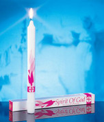 Spirit of God Confirmation Candle