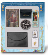 Child of God Missal first communion set has missal rosary bookmark scapular blessed sacrament pin case and pouch for a boy HI5371