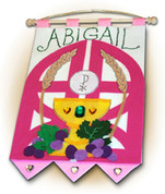 Girl First Communion Banner