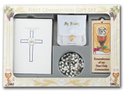 Blessed Trinity Missal first communion set with missal rosary bookmark scapular blessed sacrament pin and pouch HI5210
