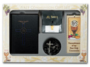 Blessed Trinity Missal first communion set with missal rosary bookmark scapular blessed sacrament pin and pouch HI5211