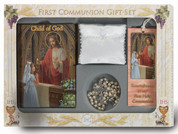 Child of God Missal first communion set with missal rosary bookmark scapular blessed sacrament pin and pouch HI5270