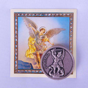 Saint Michael Pocket Coin with Small Prayer