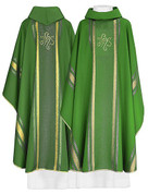 Polish Chasubles with Embroidered IHS Design
