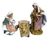 "3 Piece Fontanini Nativity Set + 2 FREE Pieces-18""-51710"