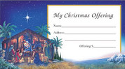 Offering Envelope - Nativity Son of God Style BCCS31000