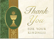 Thank You Cards - Eucharist Symbol Style BCCZ490