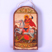 Ornament - Icon St George Style GDB87012