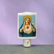 Night Light Immaculate Heart of Mary Burner