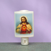 Night Light Sacred Hear Of Jesus Burner