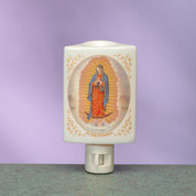Night Light Our Lady Of Guadalupe Burner