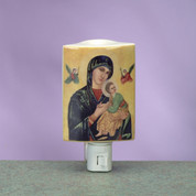 Night Light Our Lady of Perpetual Help Burner