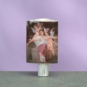 Night Light Cherub Angels Burner