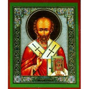 Icon - Patron St Nicholas