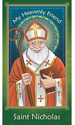 St Nicholas Prayer Card